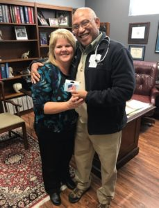 Hurricane Harvey Patient Assistance Relief Program - Dr. Bransford and Debbie Patterson