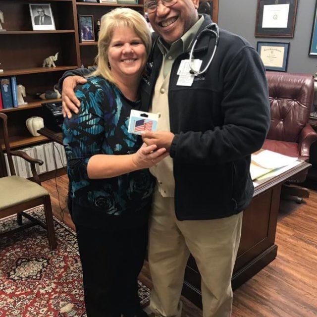 Hurricane Harvey Patient Assistance Relief Program - Dr. Bransford and Debbie Patterson