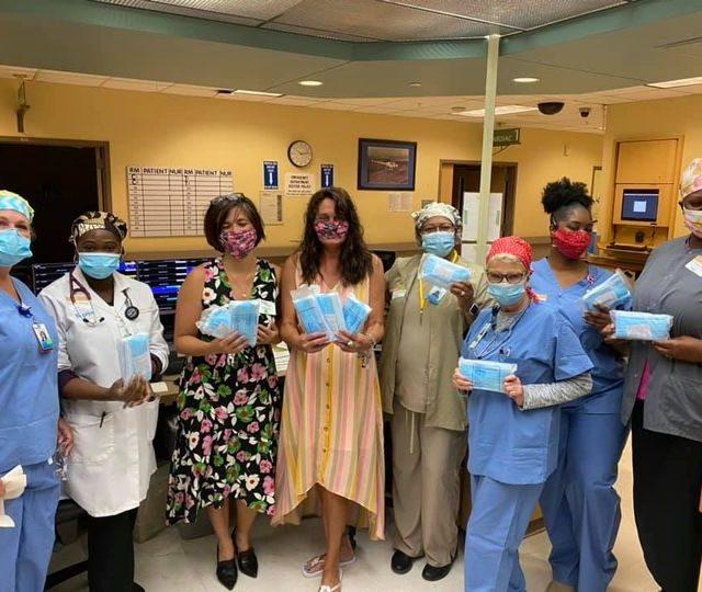 Mask Donation to Baptist Hospital